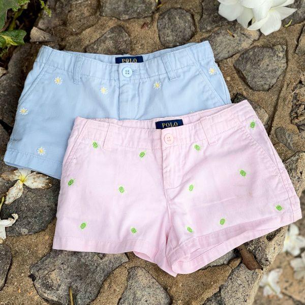 Shorts Polo Algodon con Daisys